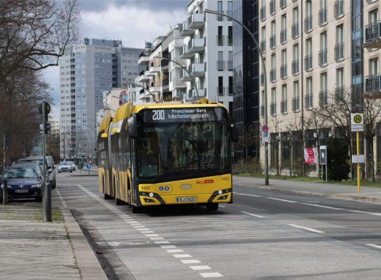 Transporte sustentável em Berlim